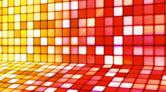 Broadcast Twinkling Hi-Tech Cubes Stage 16 - stock footage