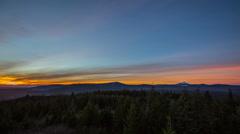 Oregon Mt Hood Forest Stock Footage