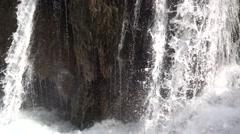 Jiuzhaigaou,China Sichuan,water fall Stock Footage
