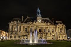 City council of Tours, Indre-et-Loire, France Stock Photos