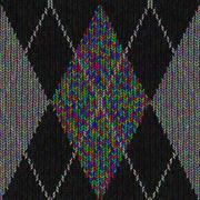 Stock Illustration of Knitting Patterns