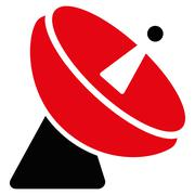 Stock Illustration of Radio Telescope Flat Icon