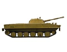 Floating  tank on a white background Stock Photos