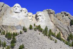 Mount Rushmore National Memorial, USA Stock Photos