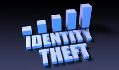 Identity theft Stock Illustration