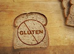Gluten free diet - stock photo