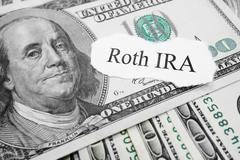 Roth IRA - stock photo