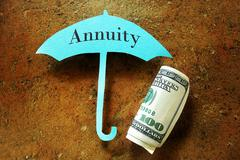 Annuity concept Stock Photos