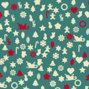 Gingerbread background-wraping paper, vector Stock Illustration