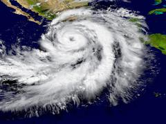 Hurricane Patricia - stock illustration