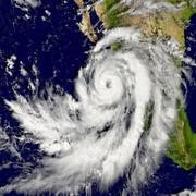 Hurricane Patricia - stock illustration