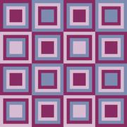 Squares seamless pattern lilac colors Stock Illustration