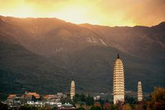 Dali pagoda - stock photo