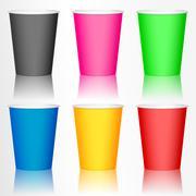 Stock Illustration of plastic coffee cup