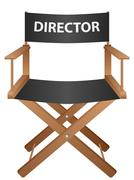 producer chair - stock illustration