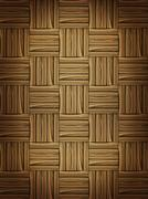 Wooden parquet Stock Illustration