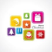 Stock Illustration of Christmas Celebration background stock vector