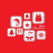 Christmas Celebration background stock vector - stock illustration