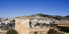 Stock Photo of Alcazaba of Alhambra and Granada