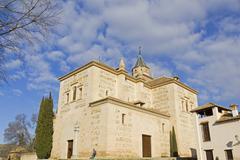 Santa Maria church, Alhambra, Granada, Spain - stock photo