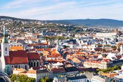 Stock Photo of skyline of Bratislava, Slovakia