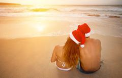 Romantic Christmas vacation Kuvituskuvat