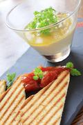Stock Photo of pate terrine appetizer starter