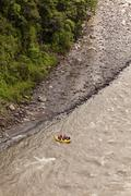 Whitewater River Rafting Adventure - stock photo