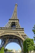 Eiffel Tower, Paris France - stock photo