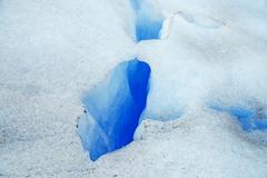 Alpine Landscape and Perito Moreno Glacier, Southern Patagonia, Argentina Stock Photos