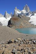 Fitz Roy and Alpine Landscape, Southern Patagonia, Argentina - stock photo