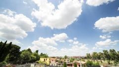 Twenty four hours time lapse in Rome, Italy. Stock Footage