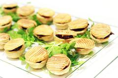 Canape finger food Stock Photos