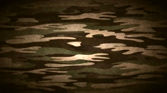 Stock Video Footage of Military camouflage, video animation
