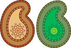 Stock Illustration of Paisley Design (Can Be Used For Textile, Batik Print)