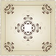 Flourish Ornamental Design Stock Illustration