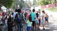 JPL Open House - stock footage