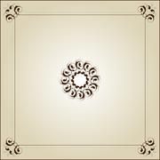 Flourish Ornamental Design - stock illustration