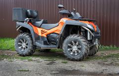 Powerful ATV Stock Photos