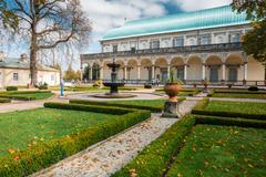 Queen Anne's Summer Palace in Prague, Czech Republic - stock photo