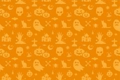 Stock Illustration of Halloween vector background seamless pattern