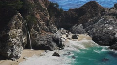 Mcway falls close up Stock Footage