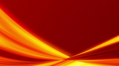 red abstract background, light gold frame, loop - stock footage