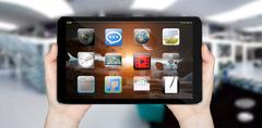 Modern digital tablet Stock Illustration