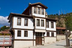 Traditional Ottoman House from Kastamonu, Turkey - stock photo