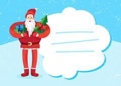 Christmas Santa Claus - stock illustration