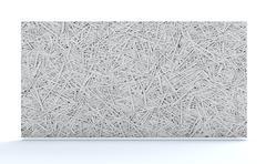 Cement bonded wood fiber Stock Illustration