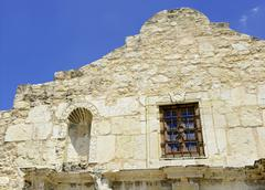 The historic Alamo in San Antonio Texas, USA Stock Photos