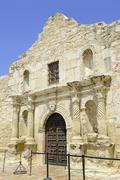 The historic Alamo in San Antonio Texas, USA - stock photo