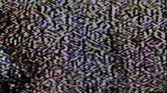 Real TV Noize - stock footage